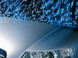 Waschen in Autowaschanlagen